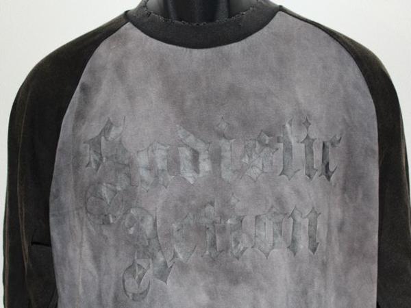 サディスティックアクション SADISTIC ACTION メンズ長袖Tシャツ Mサイズ NO1 新品_画像3