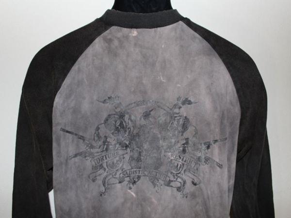 サディスティックアクション SADISTIC ACTION メンズ長袖Tシャツ Mサイズ NO1 新品_画像5