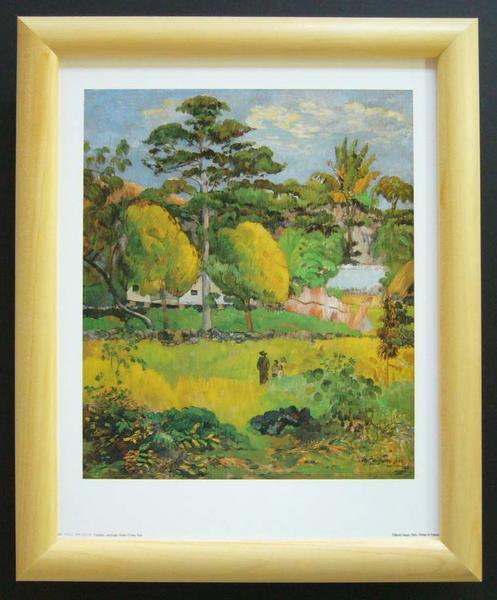 名画ポスター ゴーギャン「Landscape」-新品-即決-_画像1