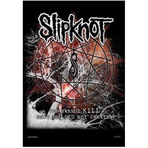 海外限定 公式 Slipknot スリップノット 特大布ポスター G96