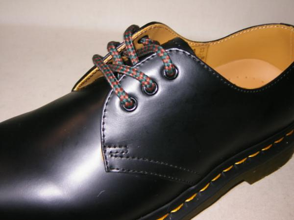 靴紐ドクターマーチン貴重3ホール用ジョージコックスにも可能7