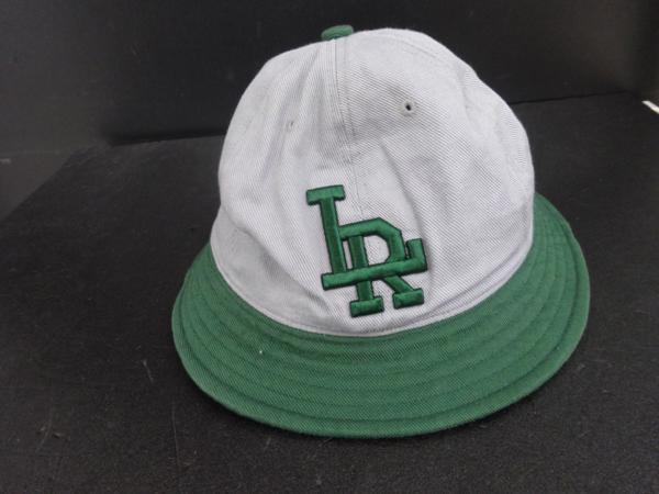 ▲LABRAT ラブラット BASEBALL HAT グレー ×グリーン 灰×緑_画像1
