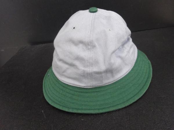 ▲LABRAT ラブラット BASEBALL HAT グレー ×グリーン 灰×緑_画像2