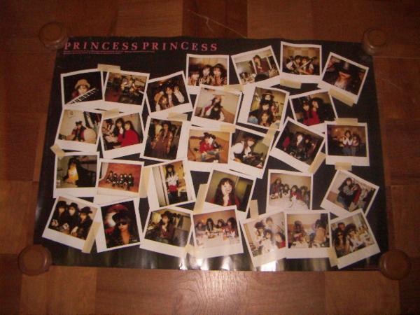 ●即決!ポスター:プリンセス プリンセス PRINCESS PRINCESS:SONY RECORDS