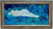 蛇雄(ダオ)●油彩30号変形『夢日記』激レア裸婦大作●『幻想の裸婦』『エロティック・アート100年の歩み』に掲載されている謎の作家