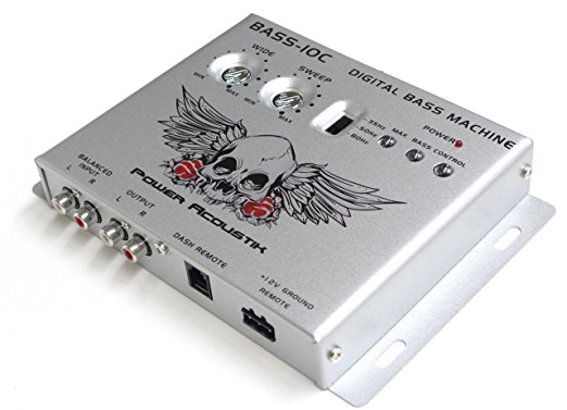■USA Audio■パワーアコースティック Power AcoustikデジタルベースプロセッサーBASS-10C ●税込_画像3