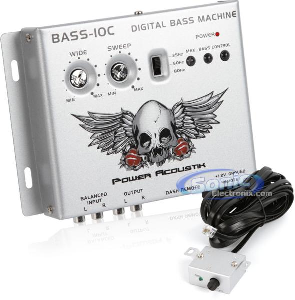 ■USA Audio■パワーアコースティック Power AcoustikデジタルベースプロセッサーBASS-10C ●税込_画像1