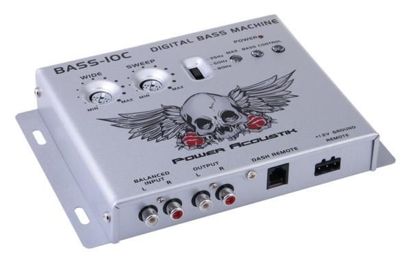 ■USA Audio■パワーアコースティック Power AcoustikデジタルベースプロセッサーBASS-10C ●税込_画像2