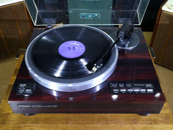 完動美品 Victor QL-Y66F フルオート レコードプレーヤー カートリッジ等付属品有 Audio Station_画像3