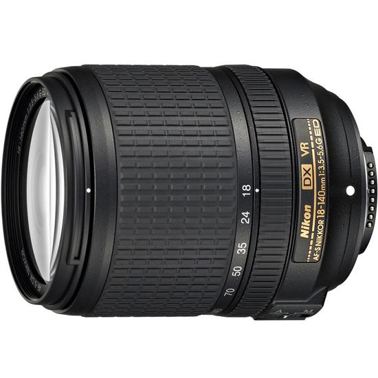 Nikon AF-S DX NIKKOR 18-140mm f/3.5-5.6G ED VR★訳あり●新品◆