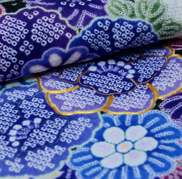 振袖 単品 合繊 生地は日本製 総絞り 金刺繍 仕立て上がり 新品 (株)安田屋_画像3
