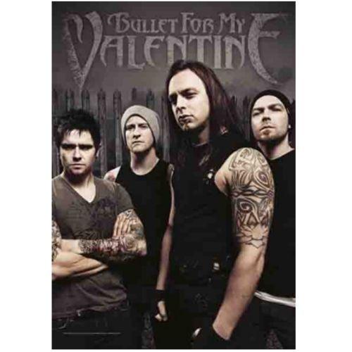海外限定 公式 Bullet For My Valentine 特大布ポスター G147