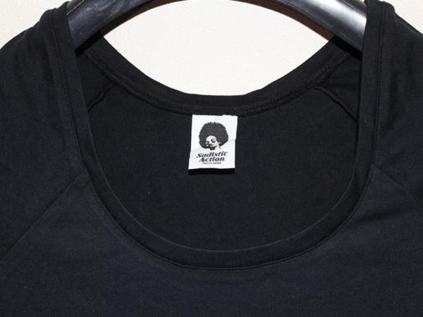 サディスティックアクション SADISTIC ACTION レディースチュニックTシャツ NO24 新品_画像2