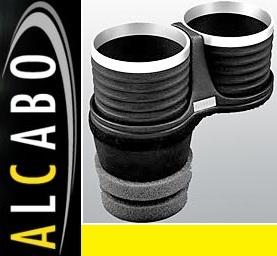 【M's】アウディ AUDI A7/S7/RS7 4G(2011y-)ALCABO ドリンクホルダー(ブラック+リング)//社外品 アルカボ カップホルダー AL-M313BS_画像1