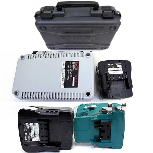 【中古】★リョービ 充電式 インパクトドライバー 14.4V BID-1417*L03_画像3