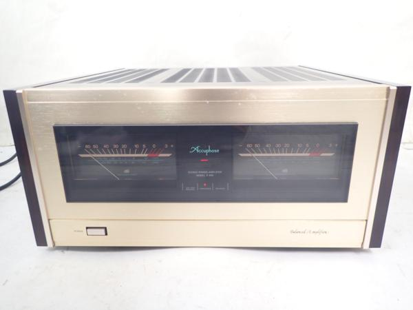 Accuphase アキュフェーズ ステレオパワーアンプ P-800 ● 4D792-6