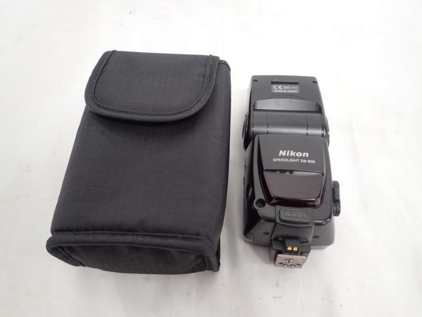 Nikon ストロボ SB-800 ▲ 4D89E-7