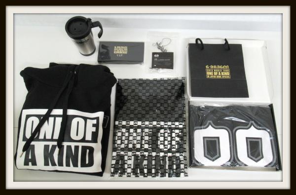 G-DRAGON グッズセット/Tシャツ/パーカー/ストラップ/ONE OF A KIND【10