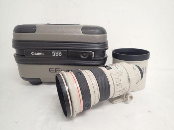 【良品】 Canon レンズ LENS EF 300mm 1:2.8L IS USM ▲ 4E0FE-1