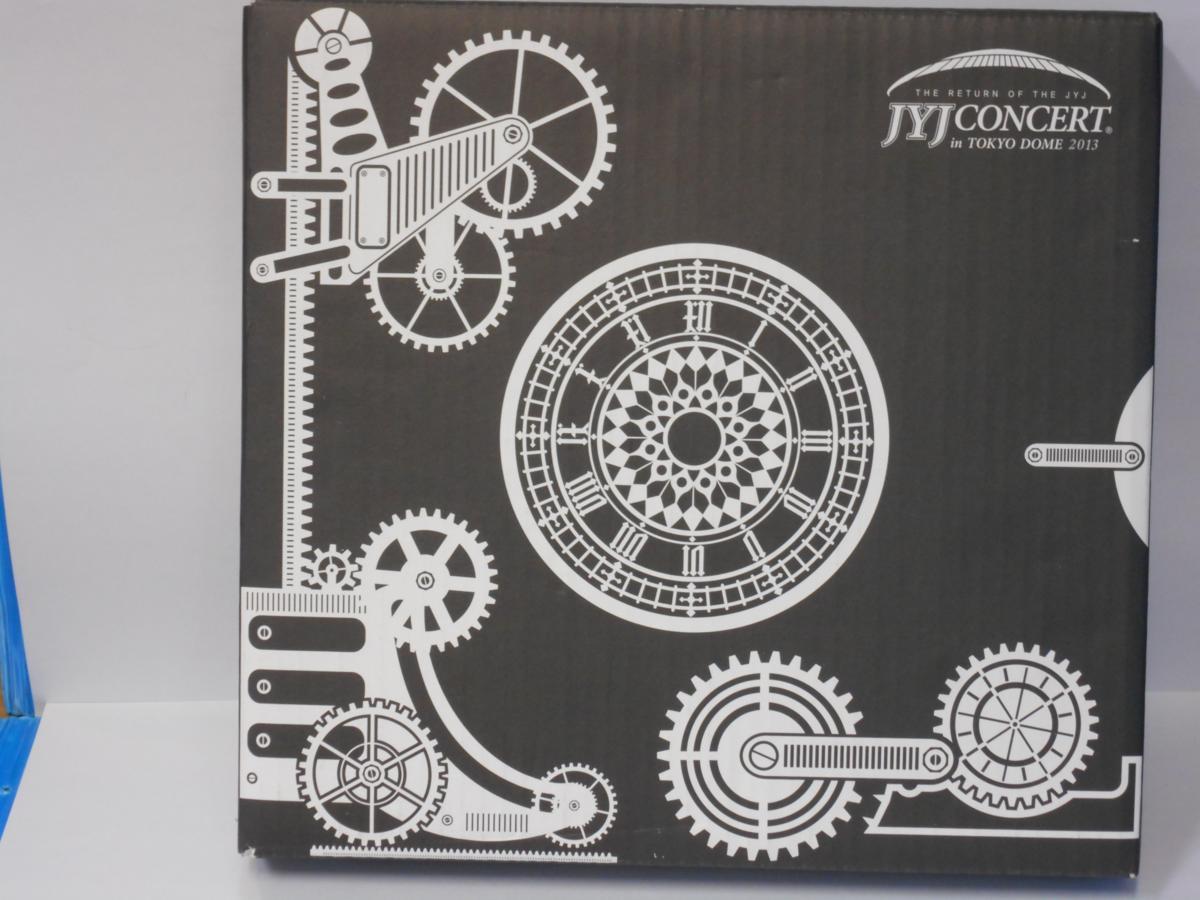 JYJ CONCERT IN TOKYO DOME 2013 DVD (4DVD+写真集)ミニポスター付