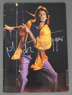 ★パンフ MICK JAGGER/88年3月日本公演★