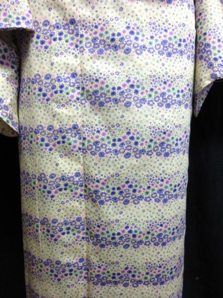 ☆オリジナル製レトロ木綿着物(ゆかた)+帯セット現品限り③_丁寧に仕立てています