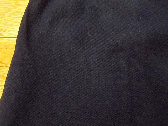 ビンテージ60's70's★DEADSTOCK Bobbie Brooksベルト付きウール台形スカート紺size7★50's80's古着屋卸レトロ_画像8