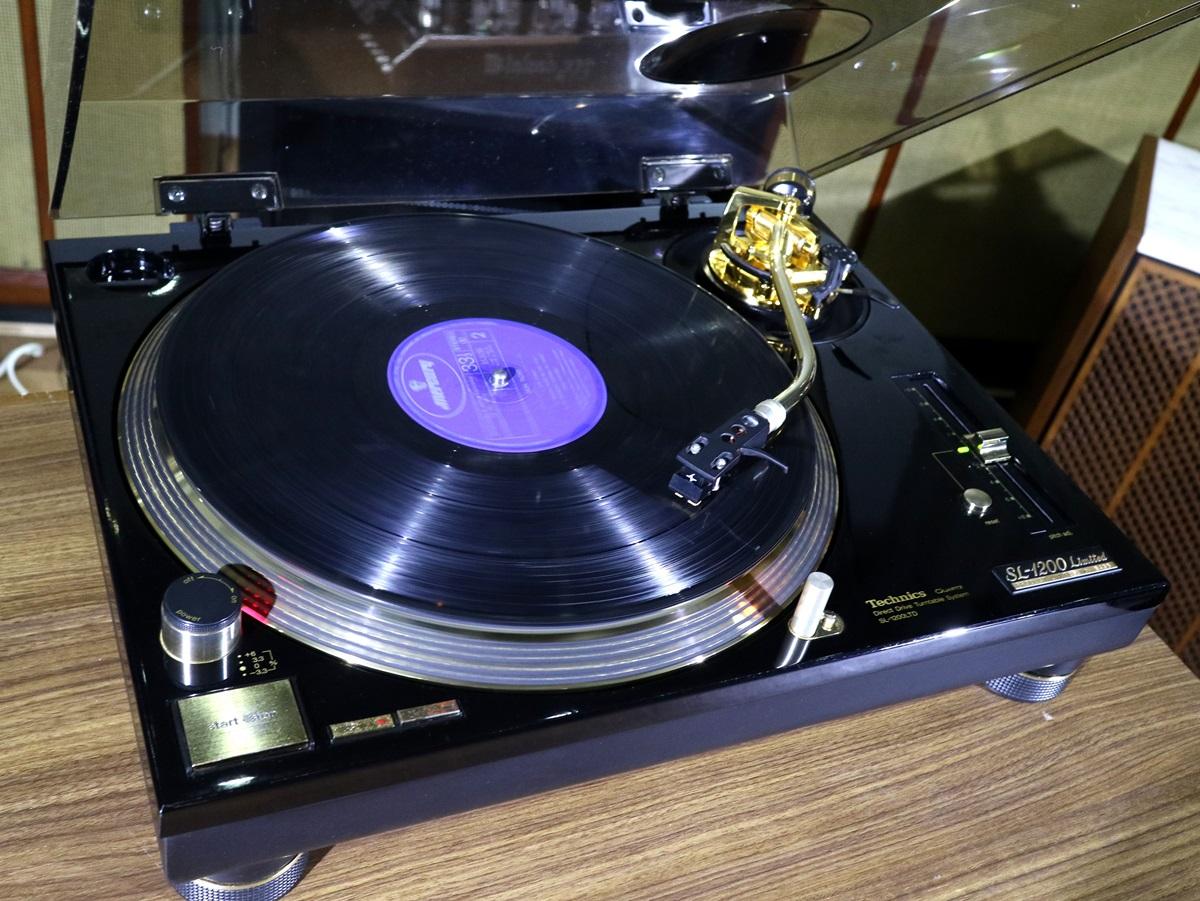 美品 Technics SL-1200LTD レコードプレーヤー 元箱等付属品フルセット Audio Station_画像2