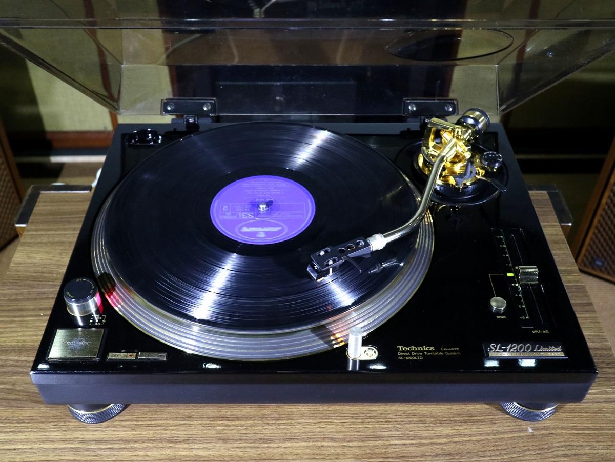 美品 Technics SL-1200LTD レコードプレーヤー 元箱等付属品フルセット Audio Station_画像3