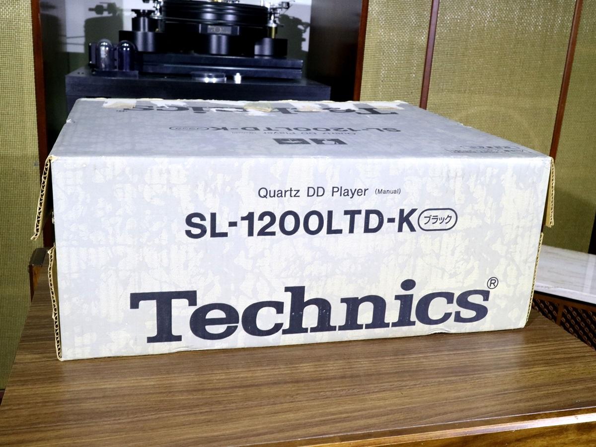 美品 Technics SL-1200LTD レコードプレーヤー 元箱等付属品フルセット Audio Station_画像5