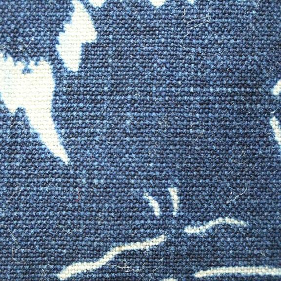 藍染 型染木綿 3幅 0429N15r_画像3