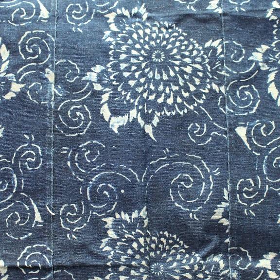 藍染 型染木綿 3幅 0429N15r_画像7