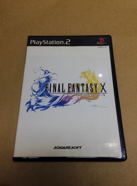 ファイナルファンタジーX PS2 中古_ファイナルファンタジーX-1