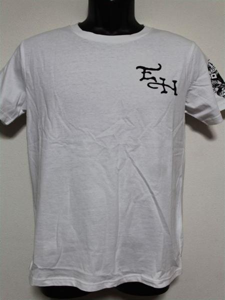 エドハーディー ED HARDY メンズ半袖Tシャツ Sサイズ ST920 ホワイト 新品_画像1