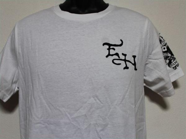 エドハーディー ED HARDY メンズ半袖Tシャツ Sサイズ ST920 ホワイト 新品_画像2