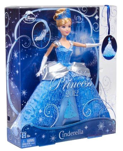 ディズニー ホリディ プリンセス ドール シンデレラ/ Disney Princess Cinderella Holiday Princess Doll(輸入品)_画像3