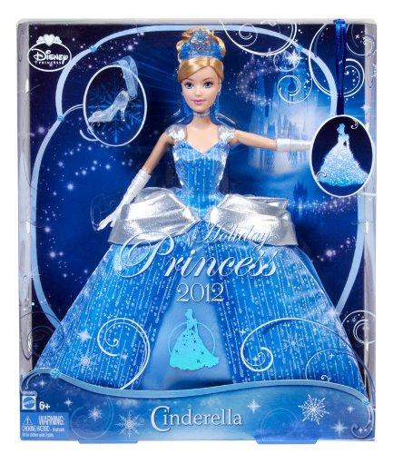 ディズニー ホリディ プリンセス ドール シンデレラ/ Disney Princess Cinderella Holiday Princess Doll(輸入品)_画像2
