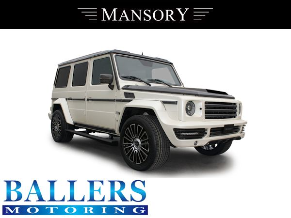 MANSORY BENZ W463 Gクラス エアロボンネット Visible Carbon ( フロント 外装 ダクト エンジンフード )_画像3