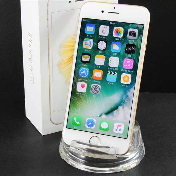【送料無料】iPhone6s 64GB ゴールド・美品■docomo★Joshin6680