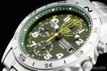 1円 セイコー SEIKO ミリタリー 海外モデル 100m防水 クロノグラフ 腕時計