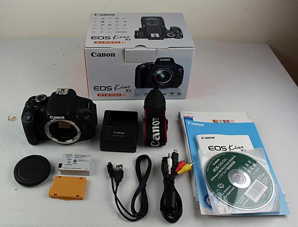 ◇中古品◇デジタル 一眼レフ カメラ Canon キャノン EOS kiss X5 ボディ (※レンズなし)