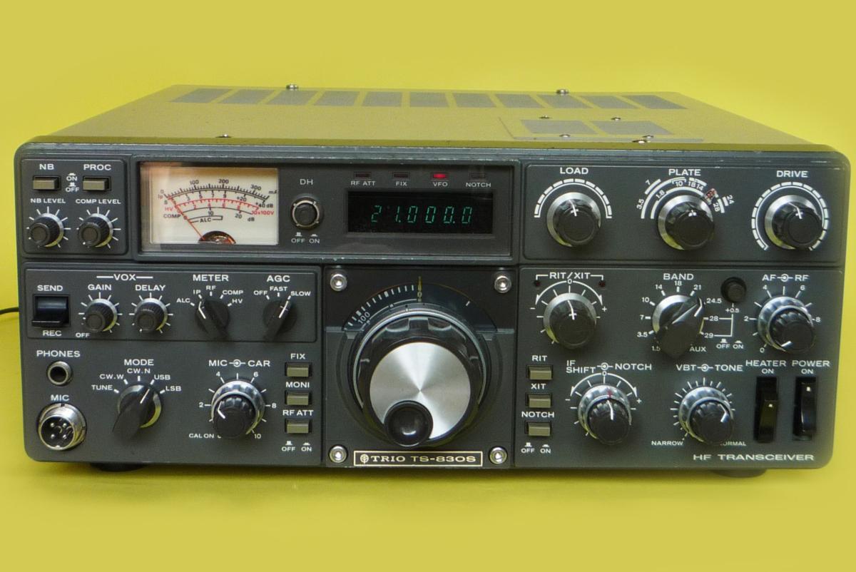 ☆マニア向け☆ KENWOOD HF 100Wトランシバー TS-830S