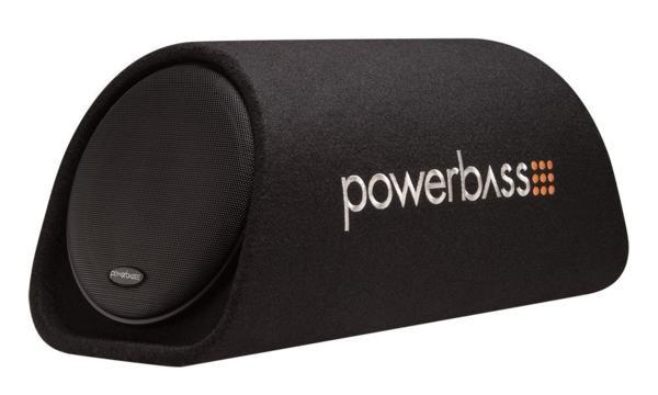 ■USA Audio■アメリカのパワーバスPowerBass 20cm ●アンプ内蔵サブウーハーBOX BTA-8, Max.300W ●保証付●税込_画像1
