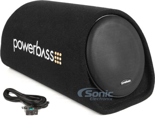 ■USA Audio■アメリカのパワーバスPowerBass 20cm ●アンプ内蔵サブウーハーBOX BTA-8, Max.300W ●保証付●税込_画像4