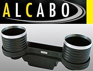 【M's】W204 Cクラス(2007y-2013y)ALCABO 高級 ドリンクホルダー(BK+リング)//ベンツ AMG アルカボ カップホルダーAL-M311BS ALM311BS_画像1