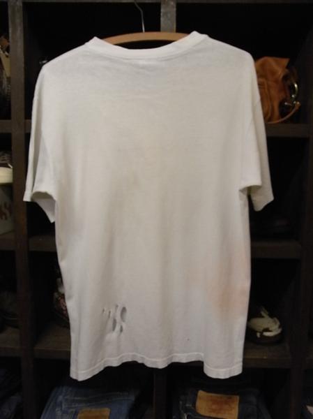 90'S MADE IN USA THRASHER スカル プリント 半袖 Tシャツ SIZE M スラッシャー スケート_画像2