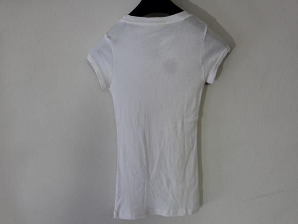 フロムファースト FROM FIRST musee レディーススマイル半袖Tシャツ ホワイト 新品_画像5