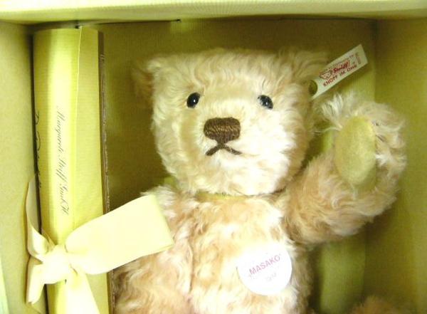 JAPAN TEDDY BEAR テディベア MASAKO, ROSE' 25 限定品 /103_画像3