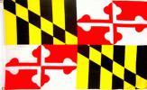 海外限定 国旗 アメリカ メリーランド州 州旗 G08 特大フラッグ