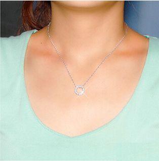 新品 ダイヤモンド ミニリング ネックレス_画像8